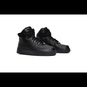 Men's Air Force 1 High'07 Triple Black